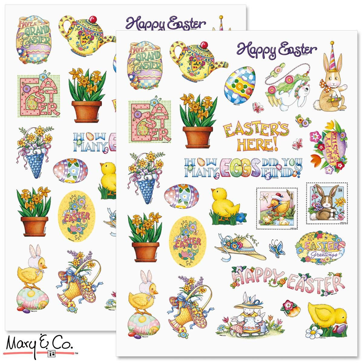 Mary Engelbreit® Easter Stickers