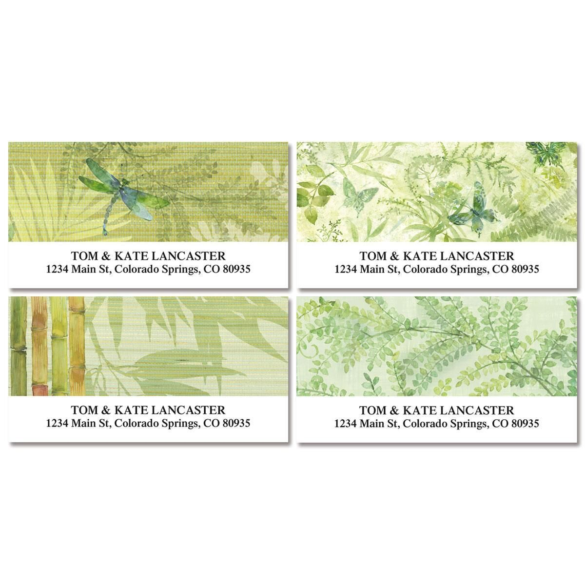 Harmony Deluxe Return Address Labels  (4 Designs)