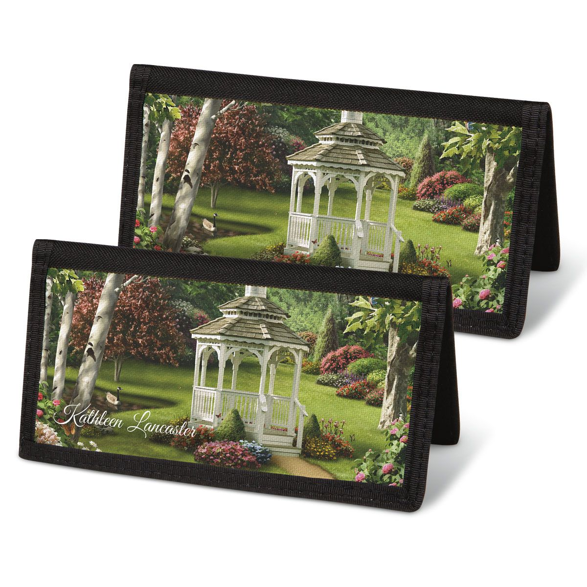 Peaceful Moments Checkbook Cover