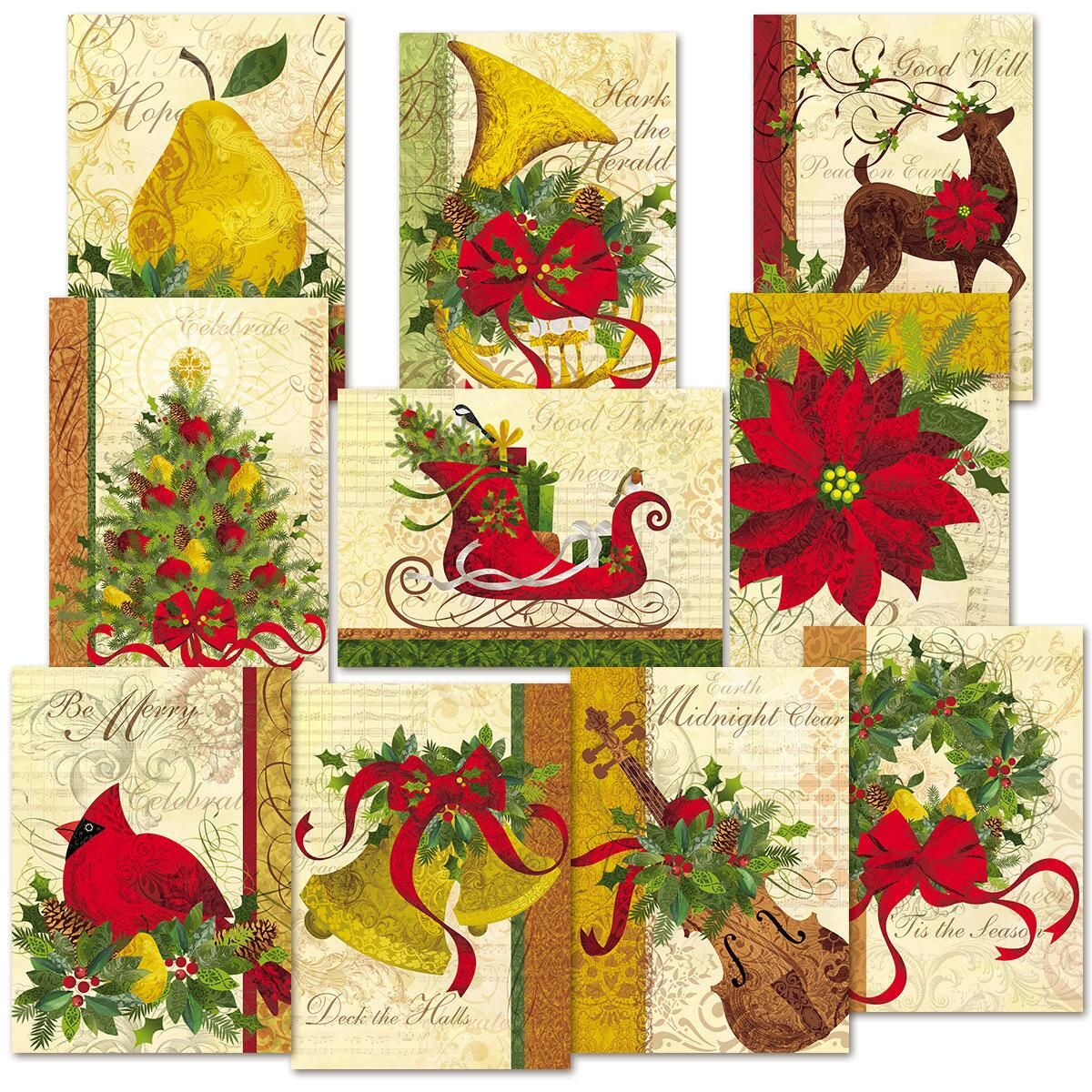 Winter Joys Christmas Cards Value Pack