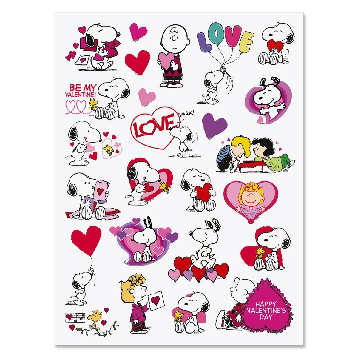 PEANUTS® Valentine Stickers -  Buy 1 Get 1 Free!