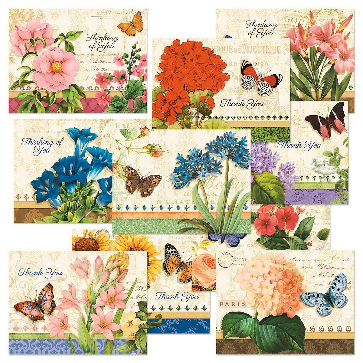 Grande Fleur Note Cards