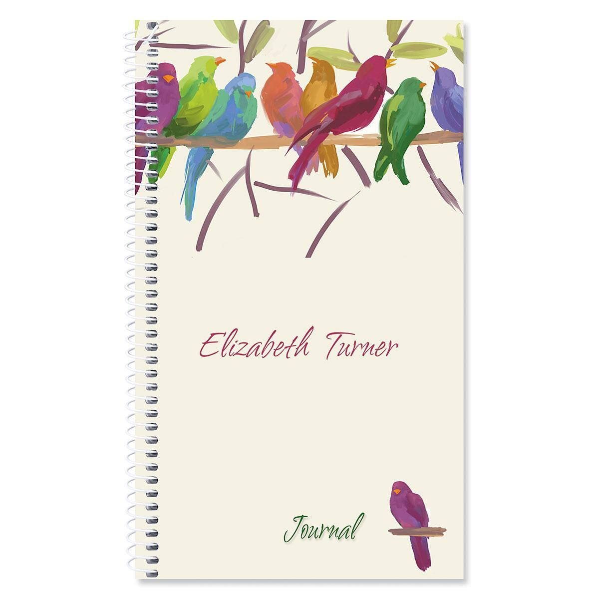 Flocked Together Personalized Daily Journal