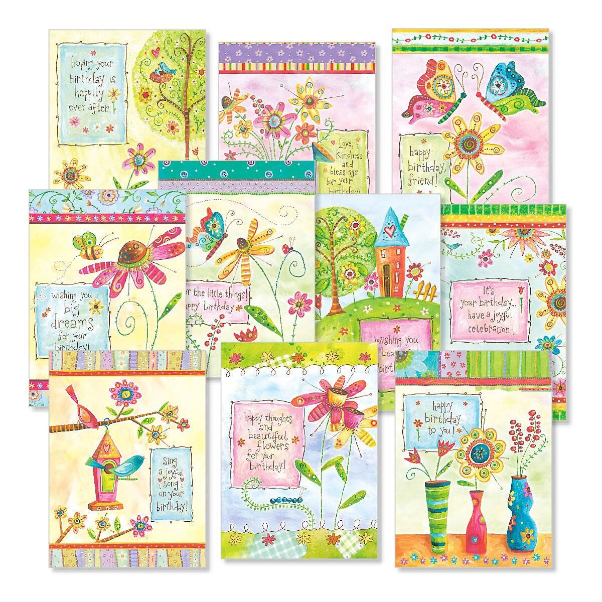 Sweet Life Birthday Cards Value Pack