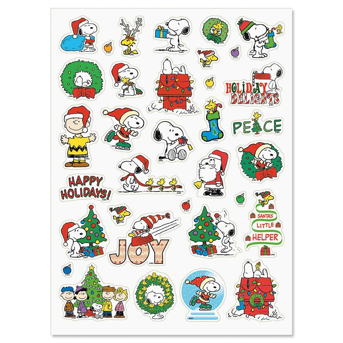 PEANUTS® Christmas Stickers - Buy 1 Get 1 Free