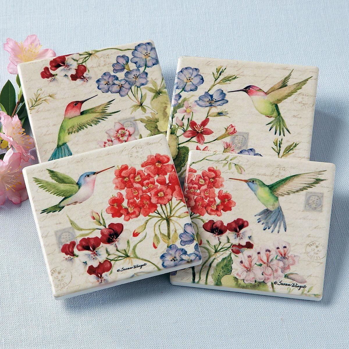 Hummingbirds Coasters