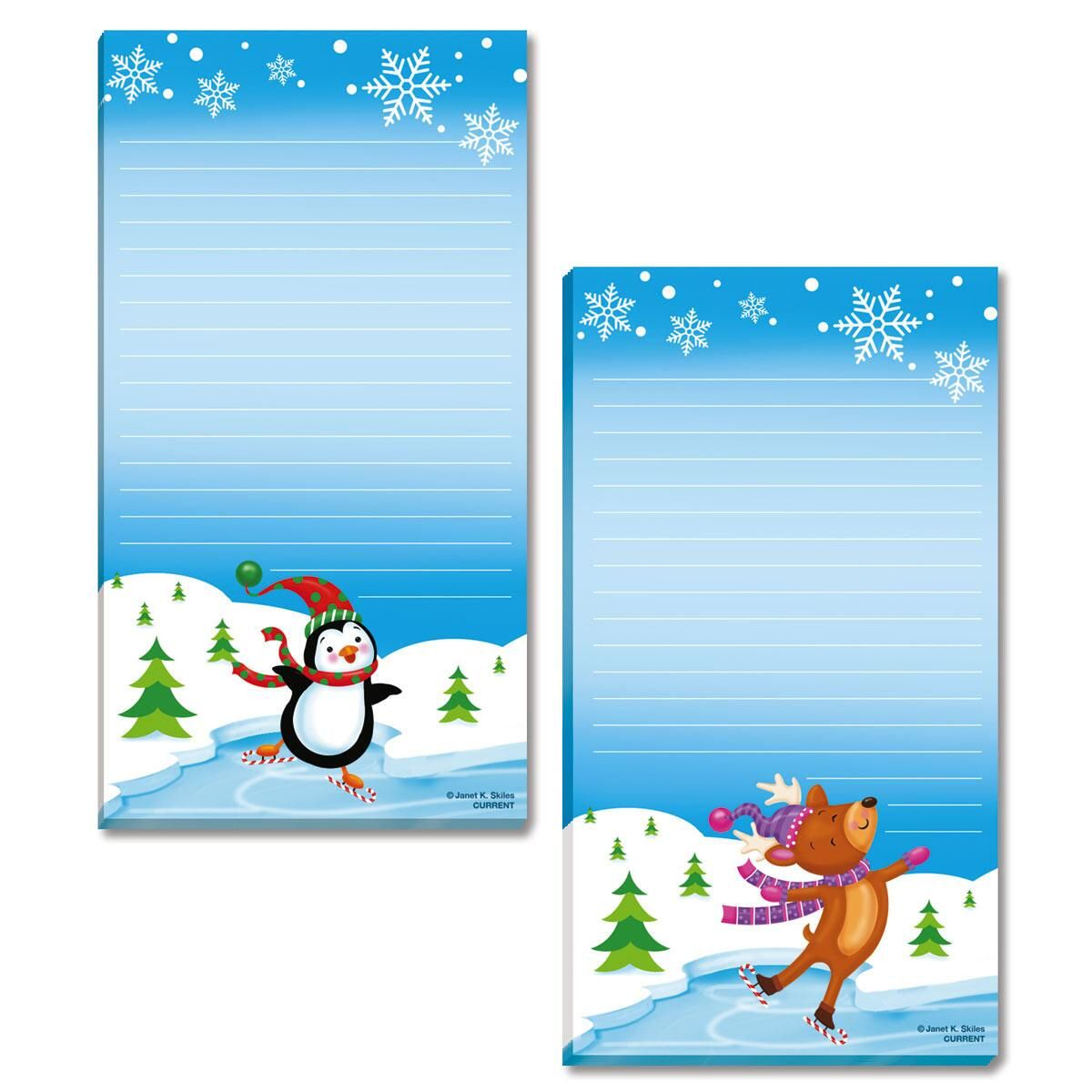 Winter Wonderland Memo Pads
