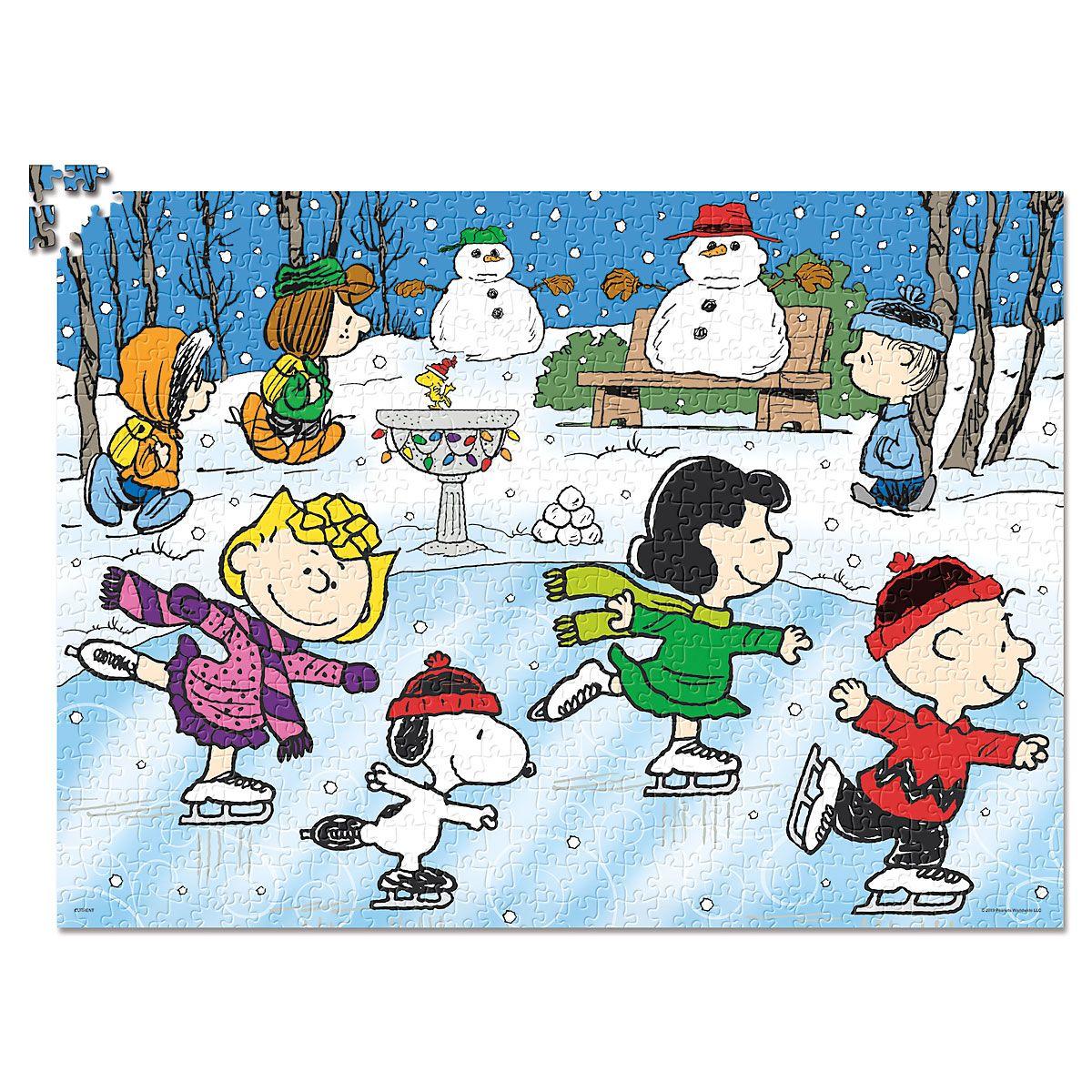 PEANUTS® Holiday Christmas Puzzle
