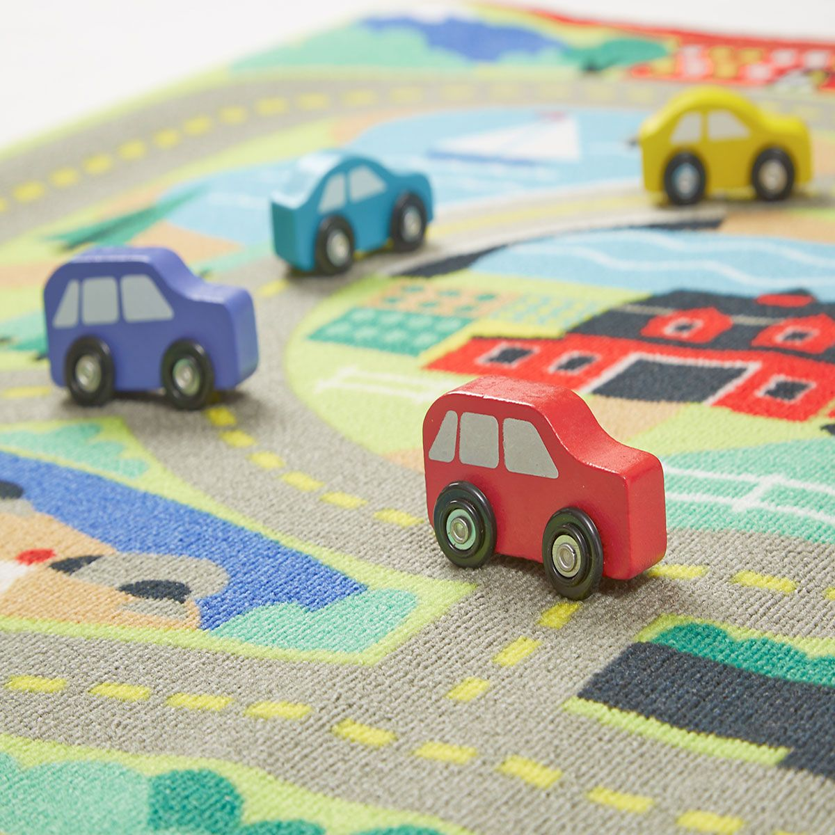 Around Town Road Rug by Melissa & Doug®
