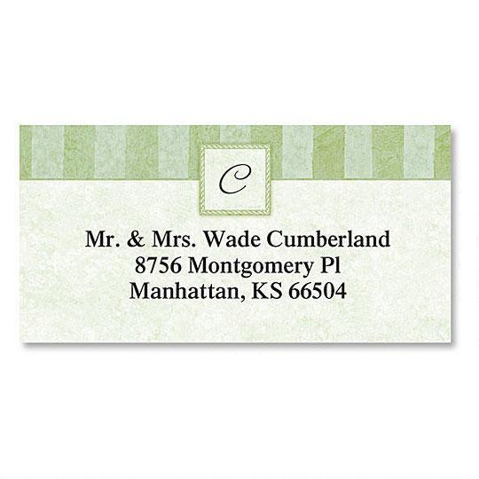 Tailored Elegance Border Address Labels