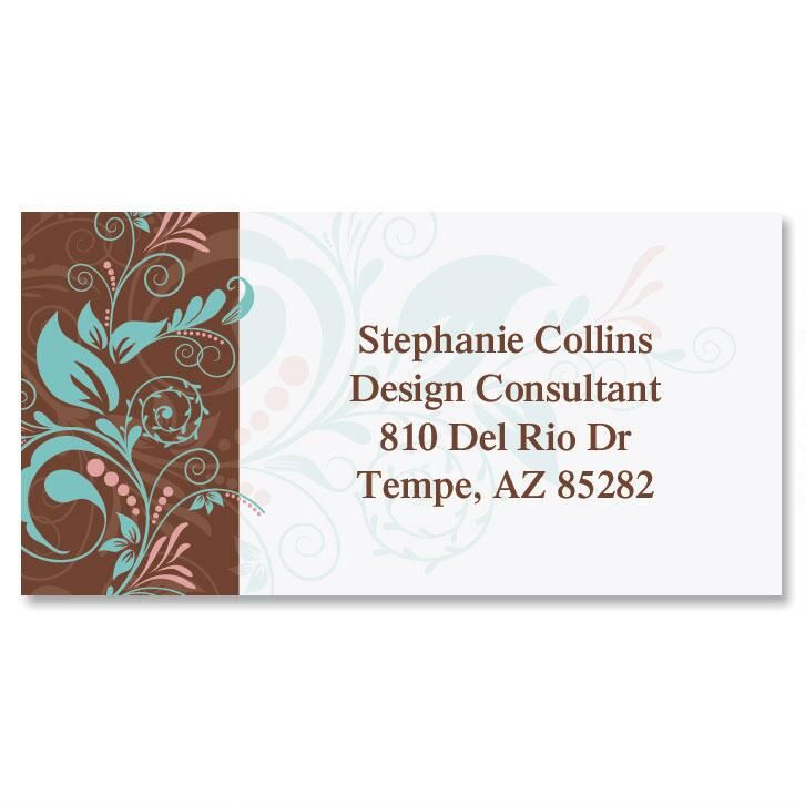 Style Border Address Labels