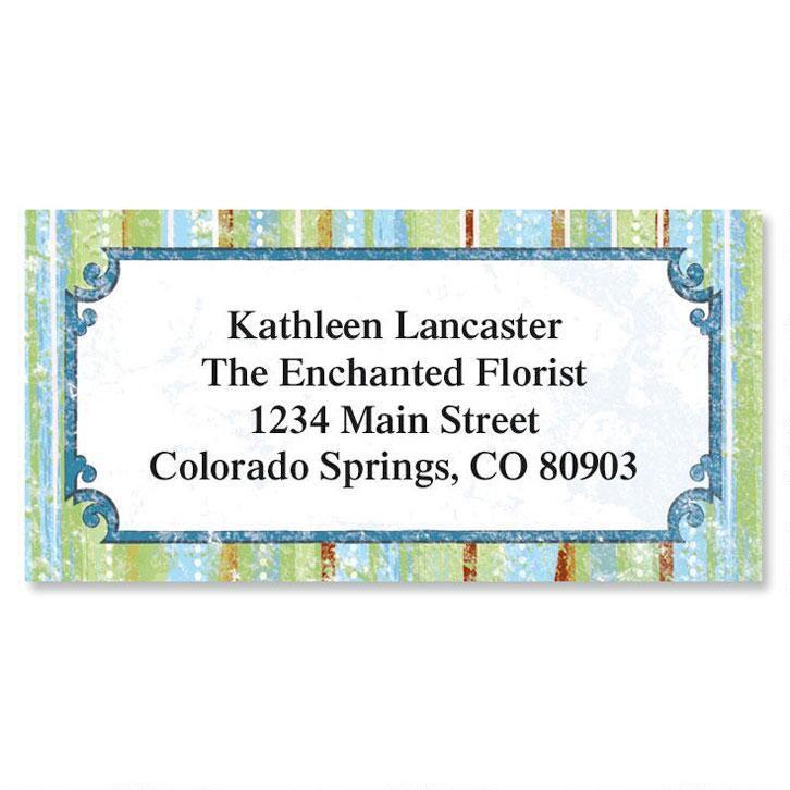 Letraset II Border Address Labels
