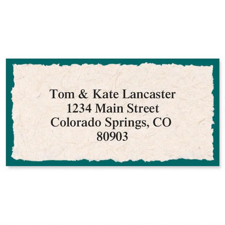 Natural Border Address Labels