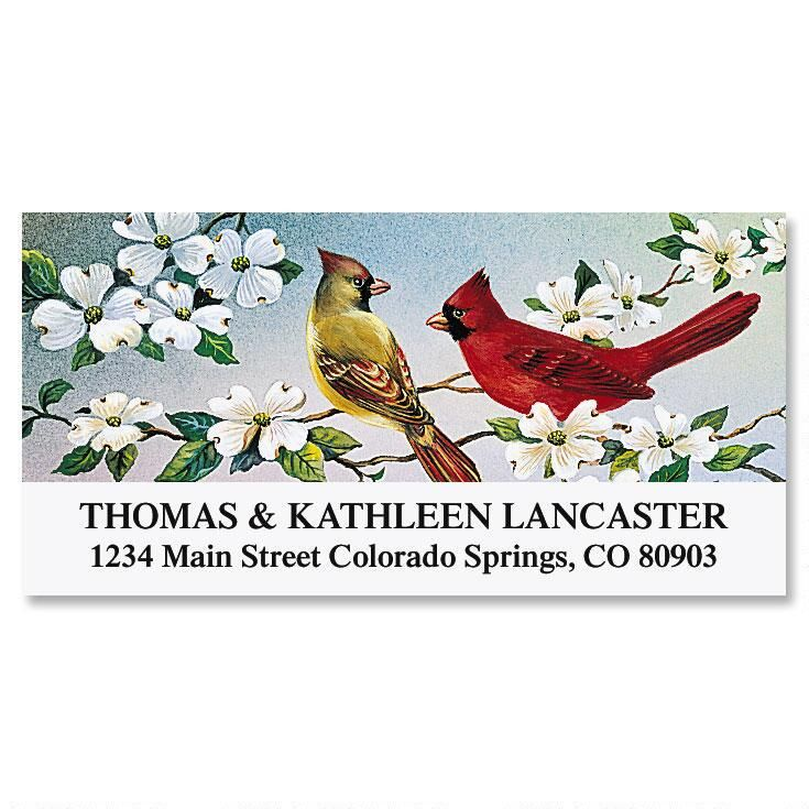 Cardinals Deluxe Address Labels