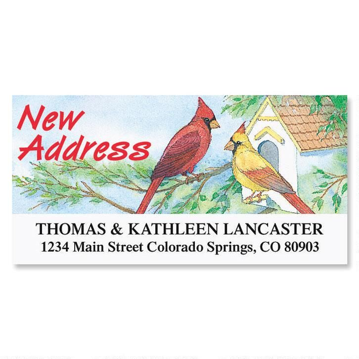 New Address Deluxe Return Address Labels