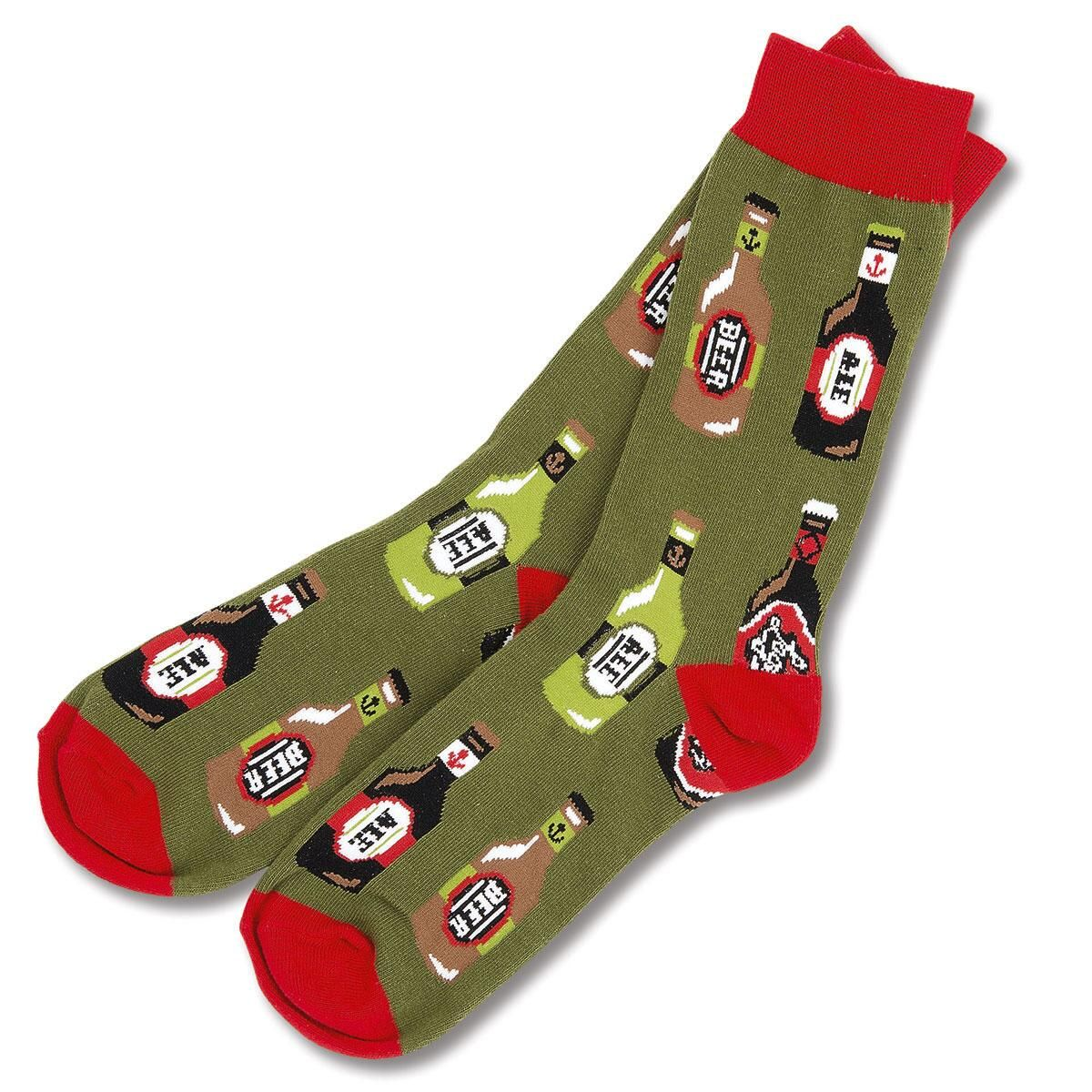 Beer Bottles Socks
