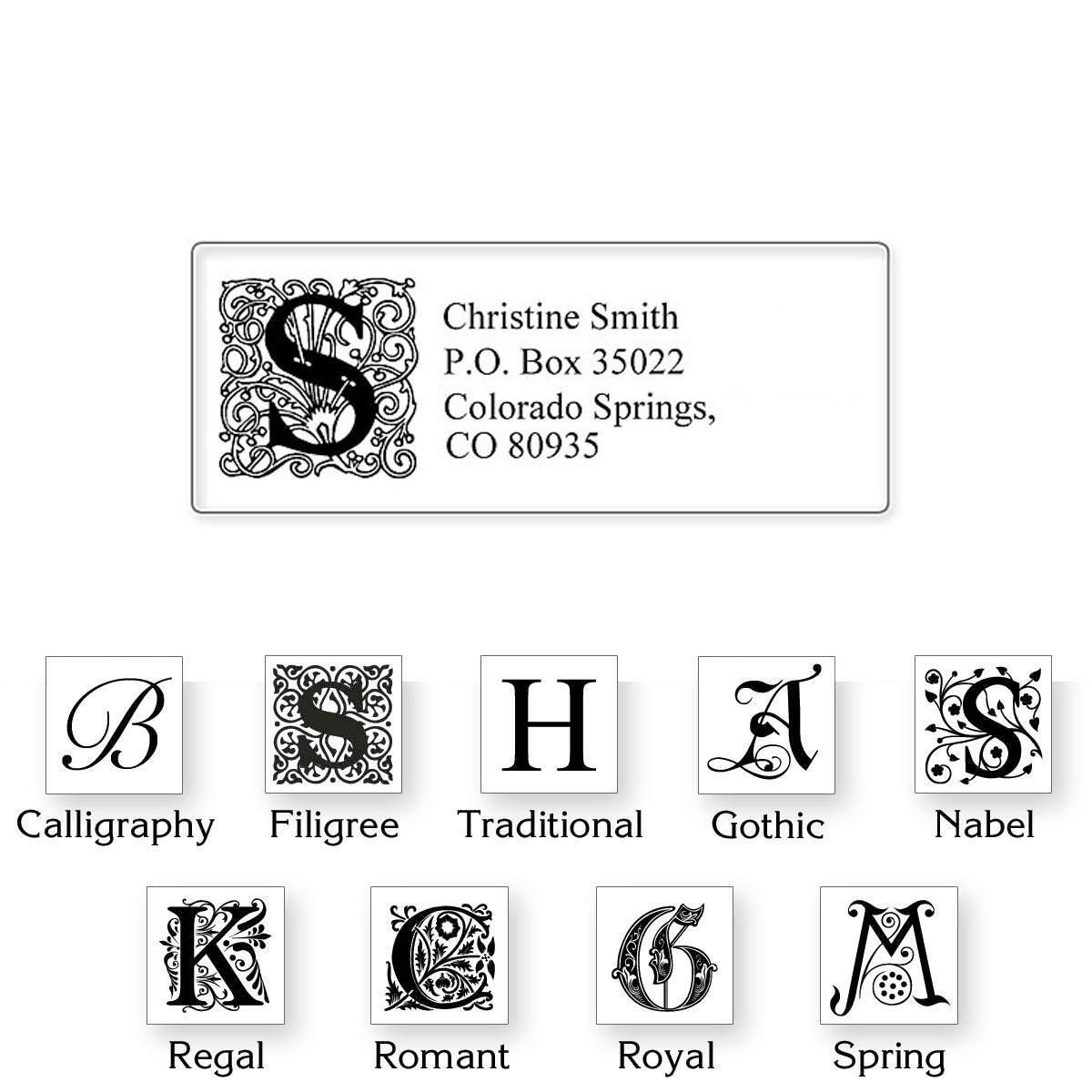 Clear Initial  Classic Address Labels