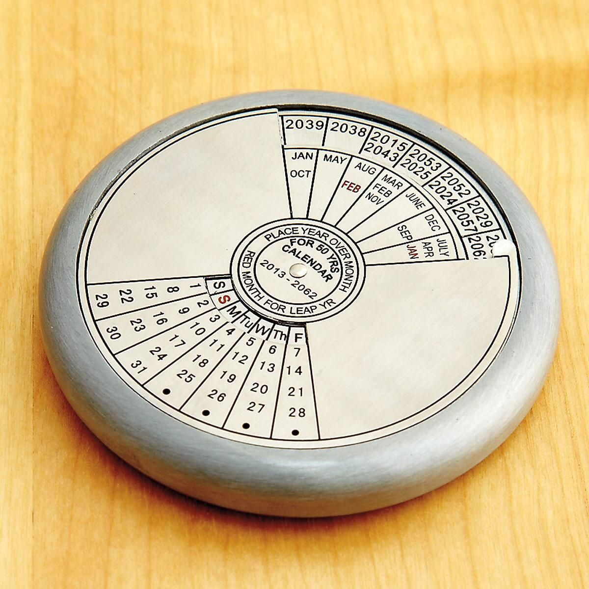 50-Year Calendar Paperweight