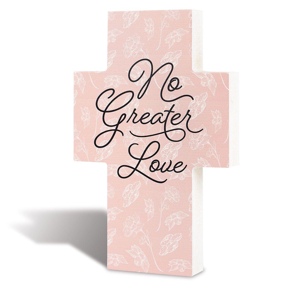 No Greater Love Cross