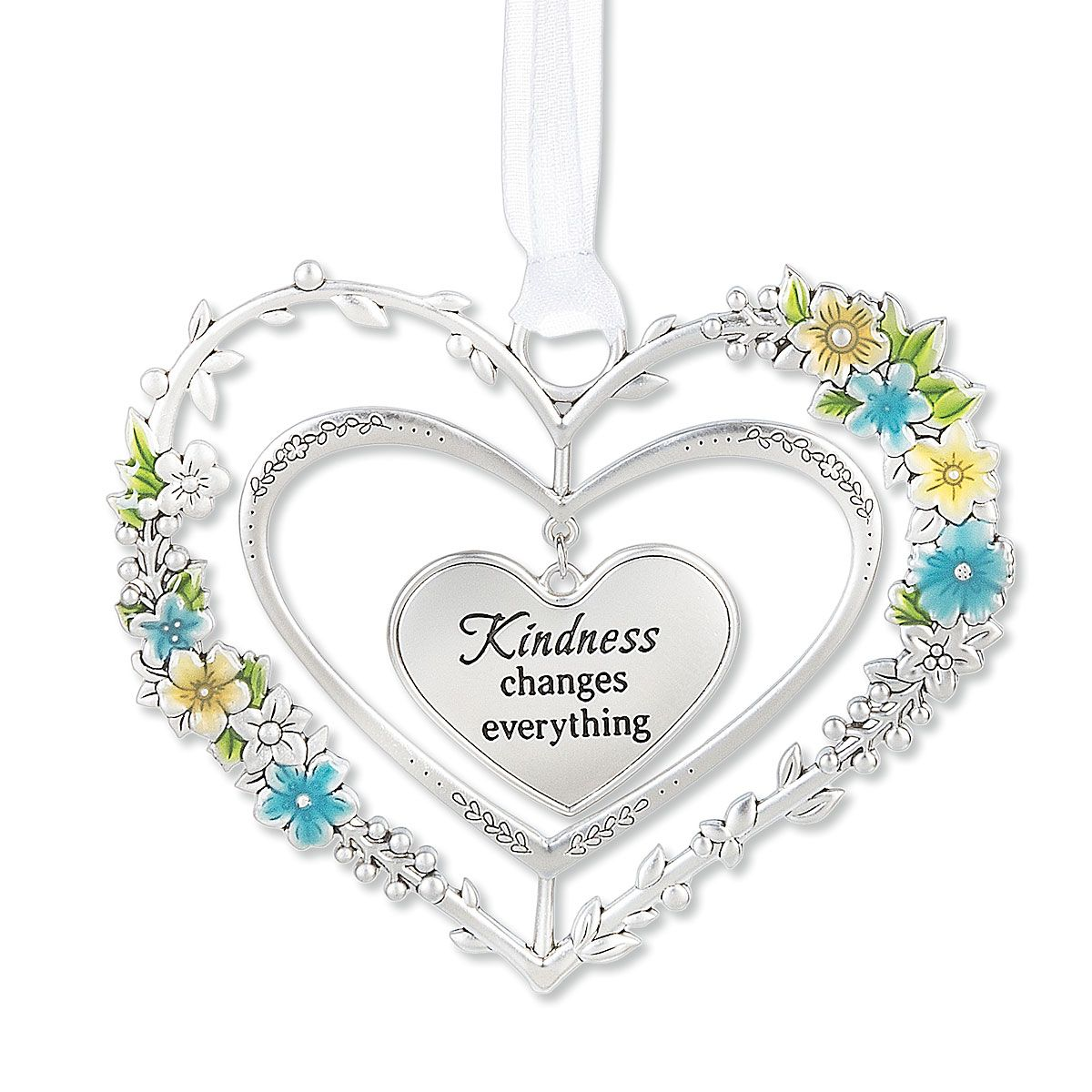 Blooming Heart 3D Ornament