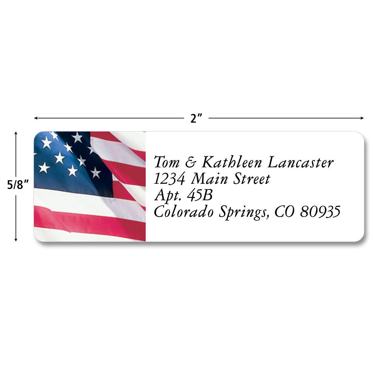 American Glory  Classic Return Address Labels