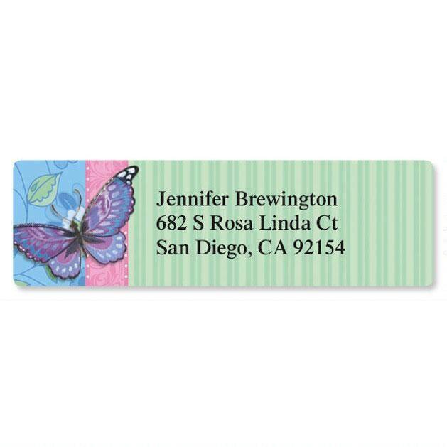 Blush Classic Address Labels