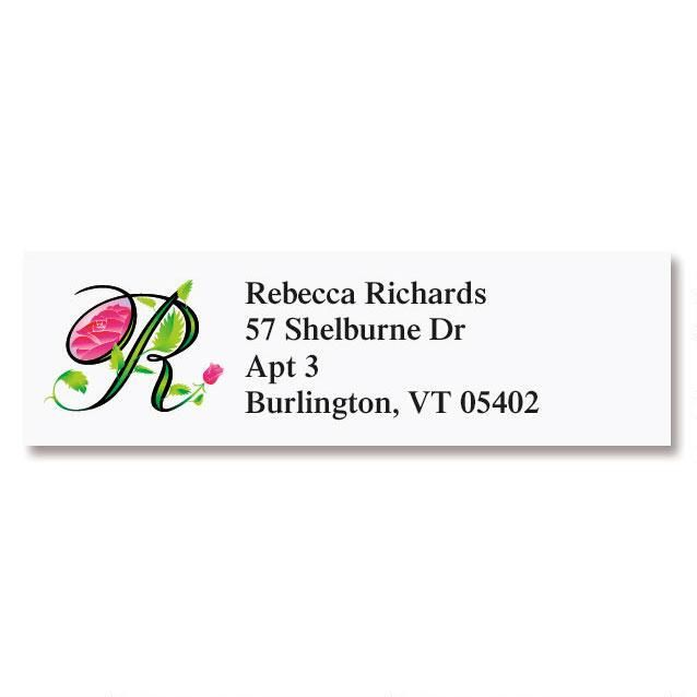 Sunlight Initial Classic Return Address Labels
