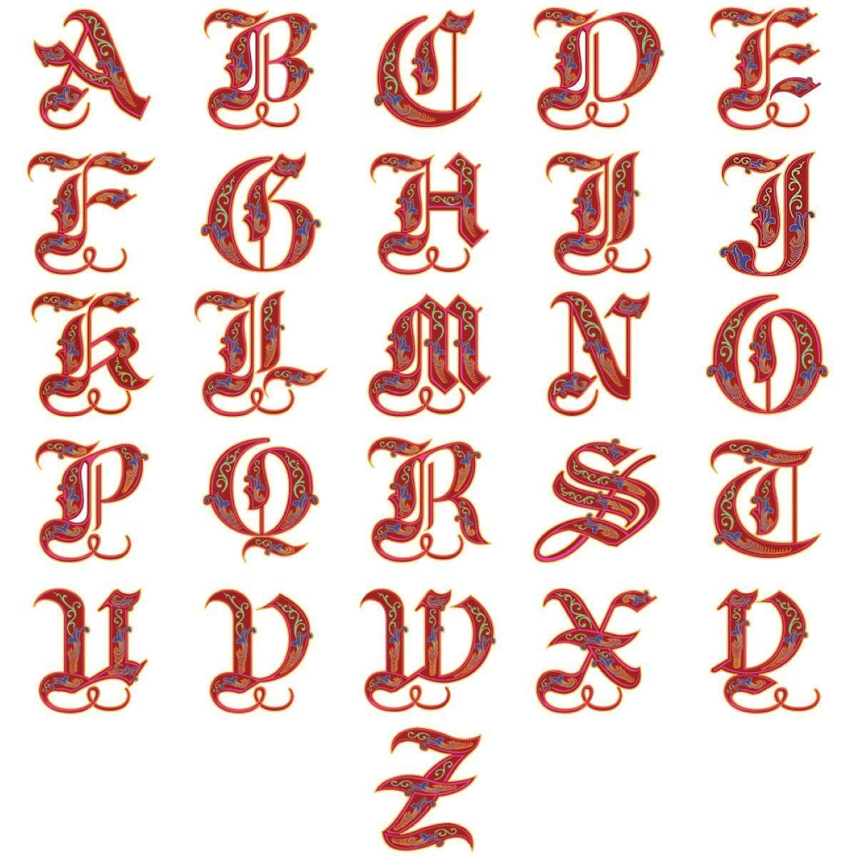 Royal Monogram Classic Address Labels