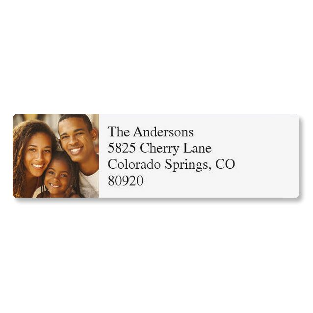 Direct Classic Photo Return Address Label