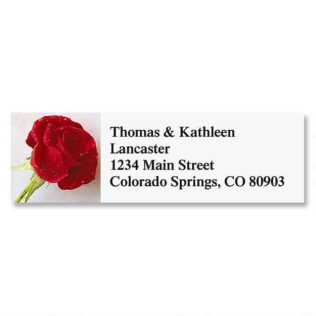 Perfect Rose Classic Return Address Labels