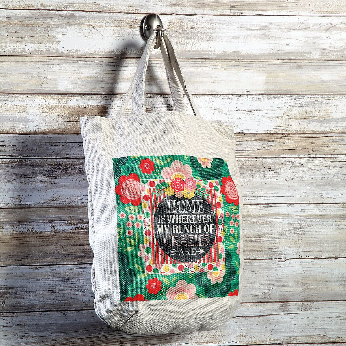 Home is Wherever Book Tote