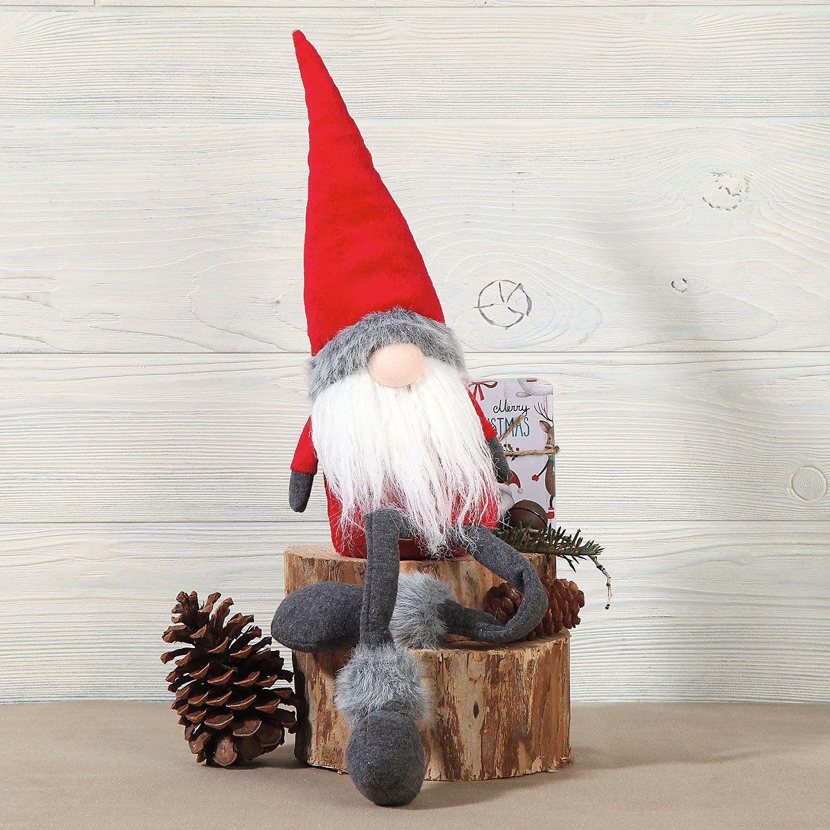 Red Gnome Shelf-Sitter