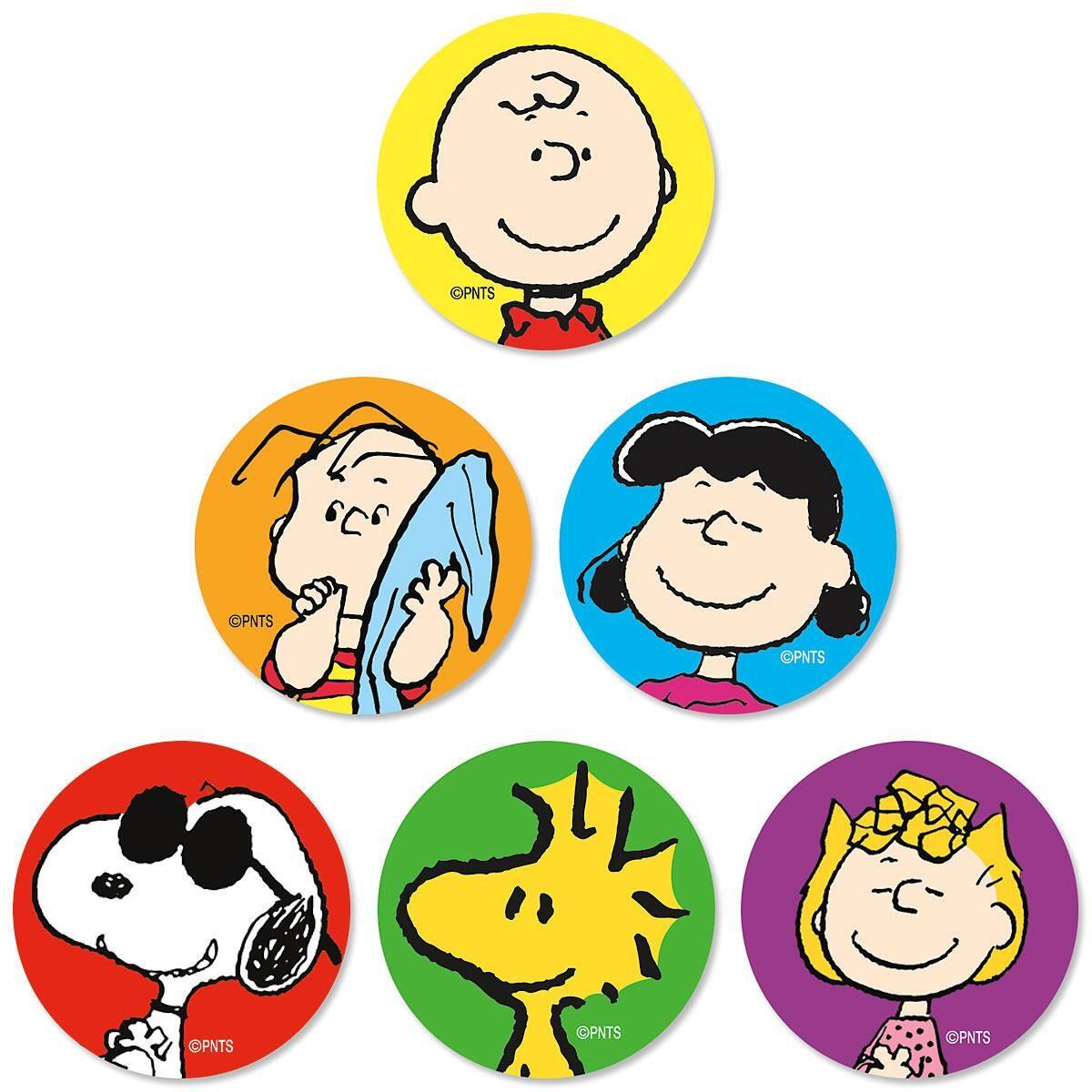 Charlie Brown® Envelope Seals  (6 Designs)
