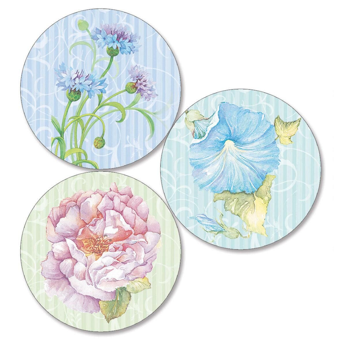 Elaborate Floral  Envelope Seals   (3 Designs)