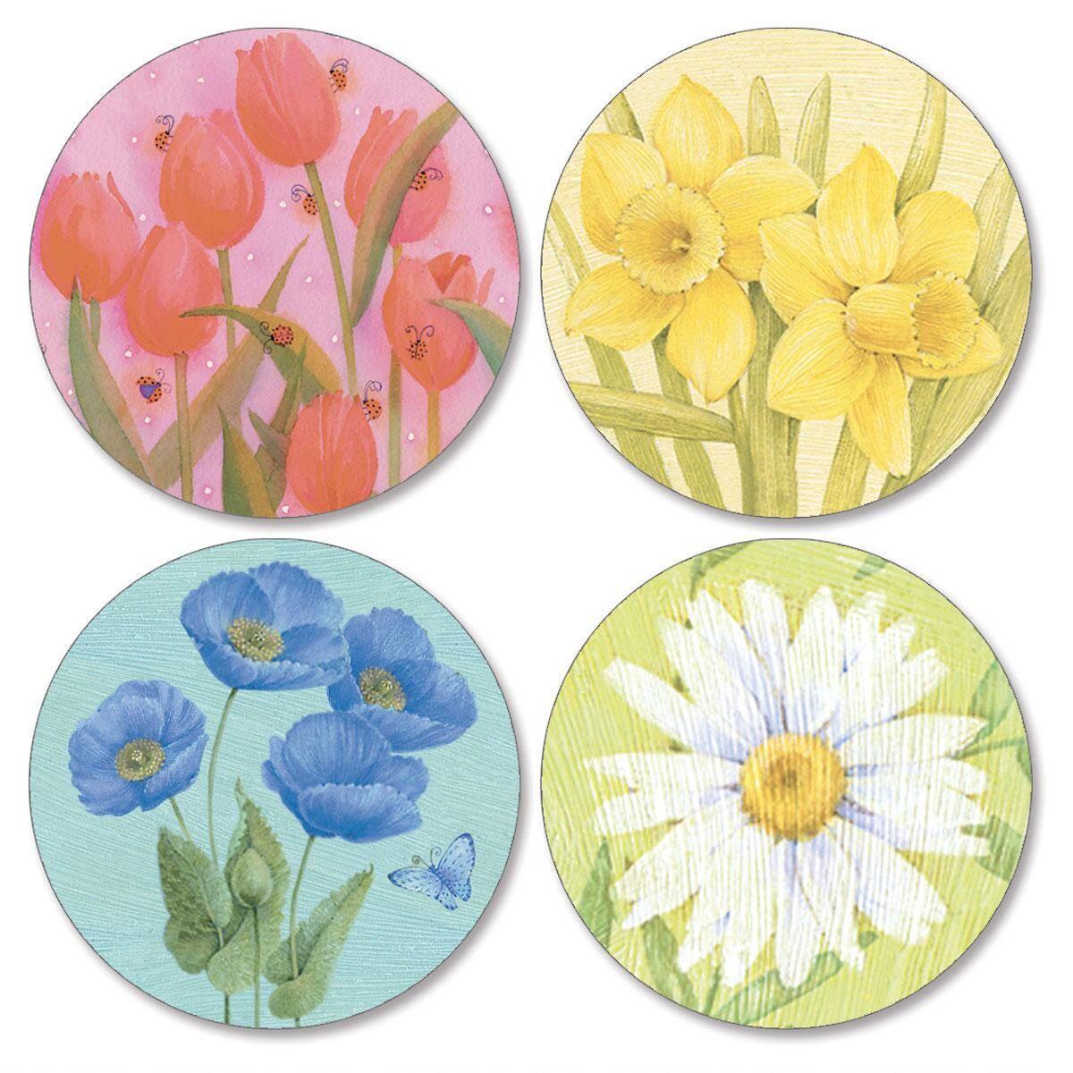 Springtime Delights  Envelope Seals   (4 Designs)