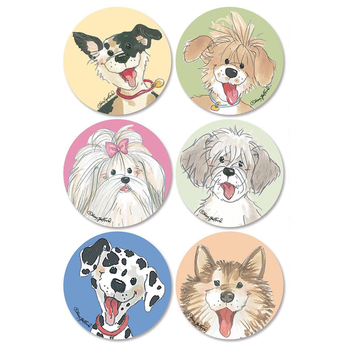 Wags™  Envelope Seals   (6 Designs)
