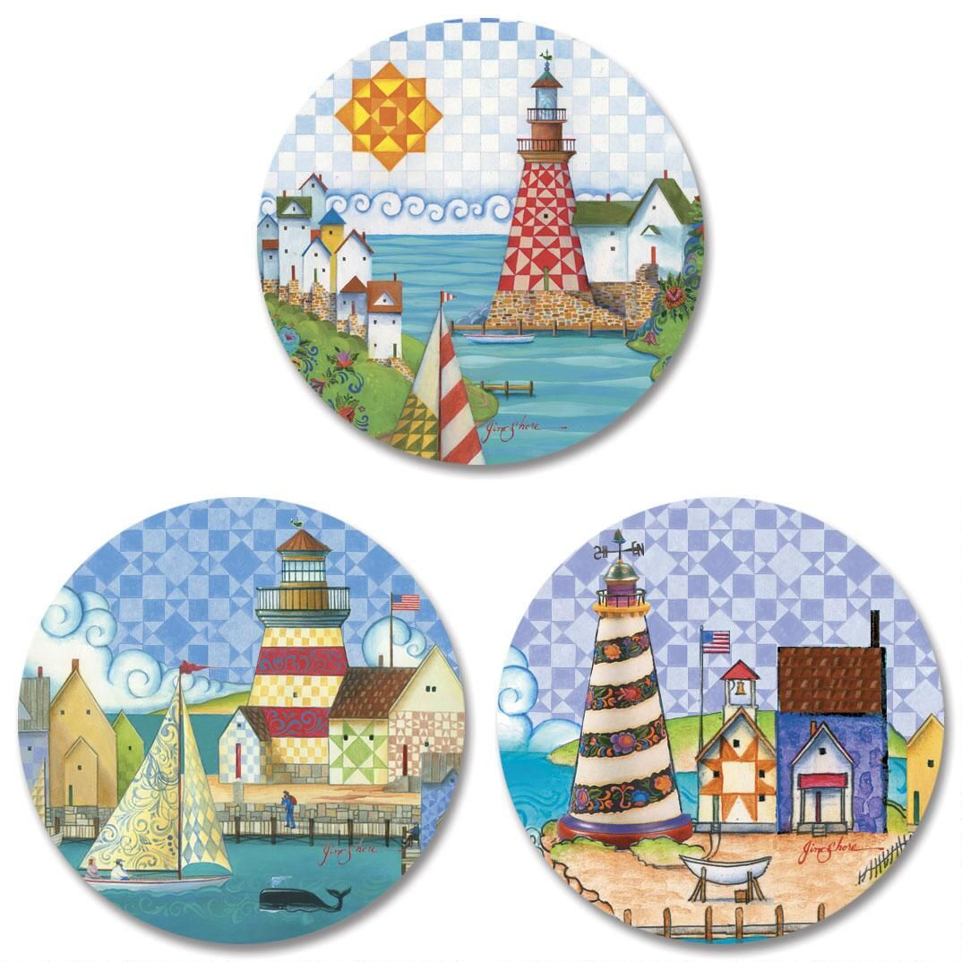 Lighthouse by Jim Shore Envelope Seals  (3 Designs)