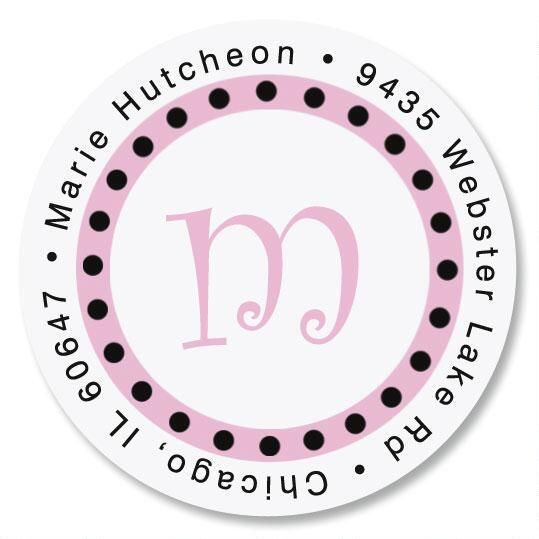 Leeza Initial Round Address Labels