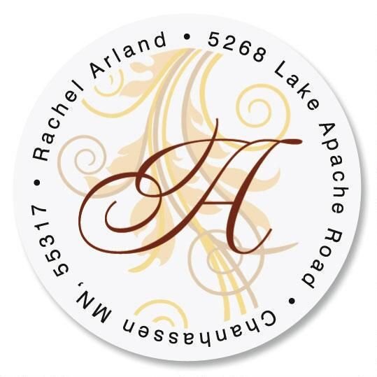 Tred Lightly Initial Round Address Labels