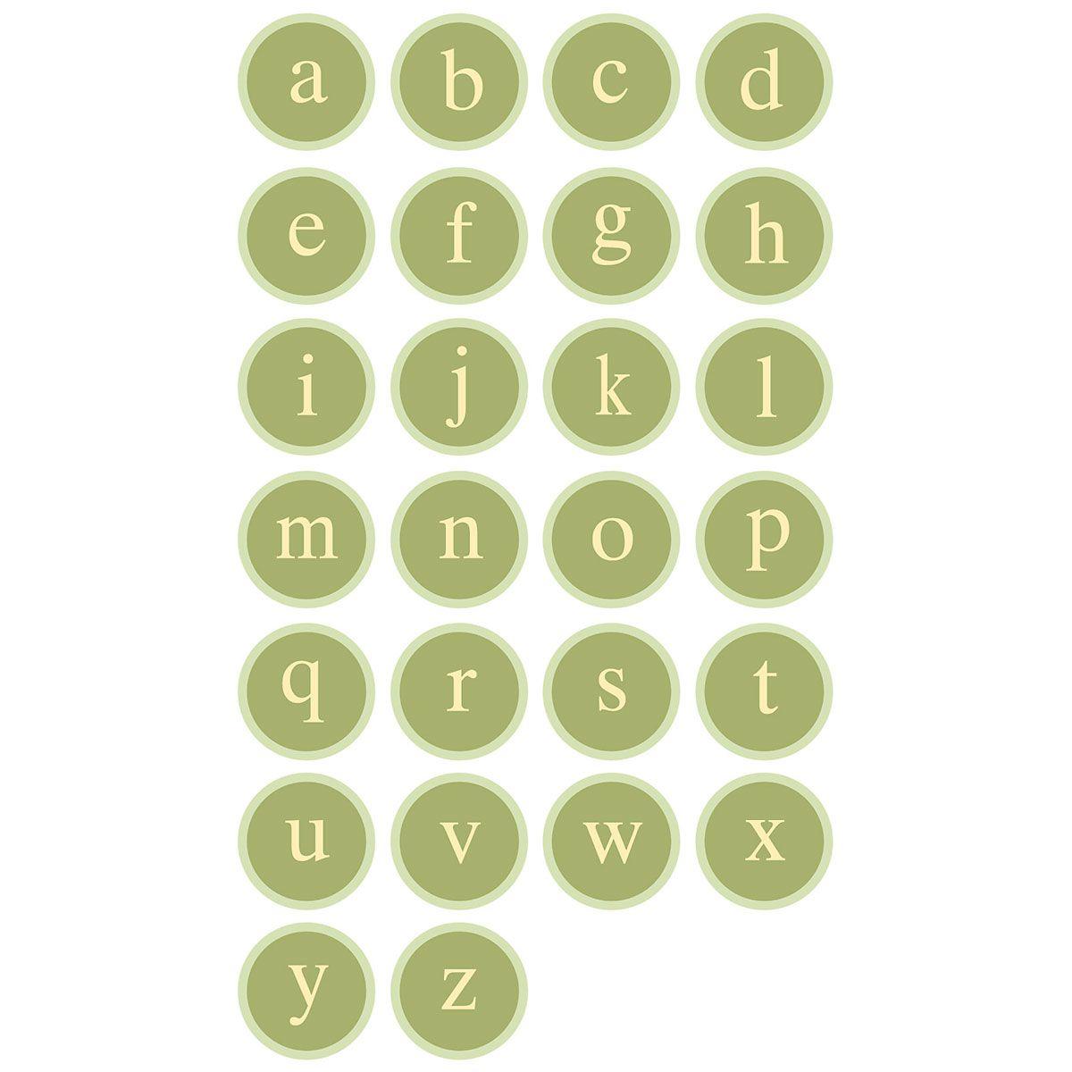 Sage Advice Round Return Address Labels  (4 designs)