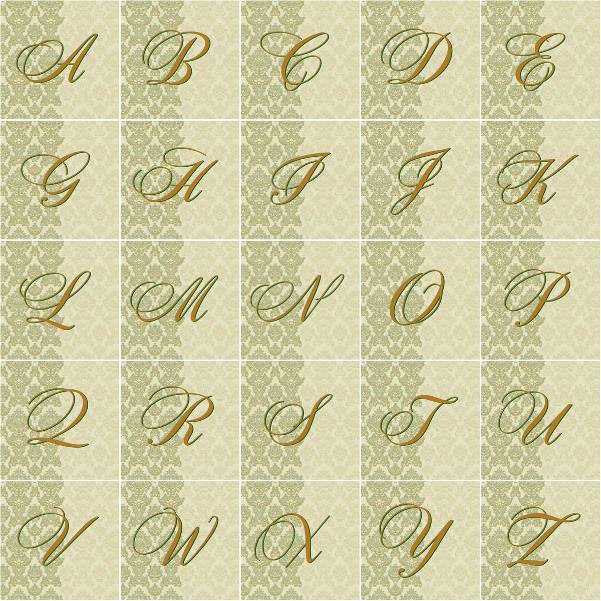 Regency Initial Envelope Seals