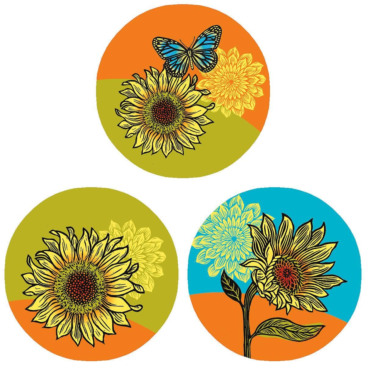 Hello Sunshine Envelope Seals  (3 Designs)