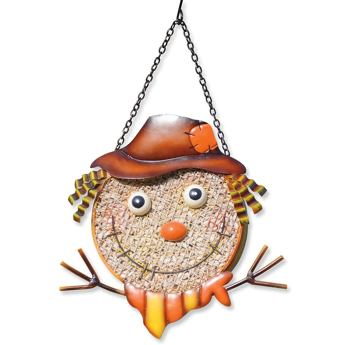Scarecrow Mesh Bird Feeder