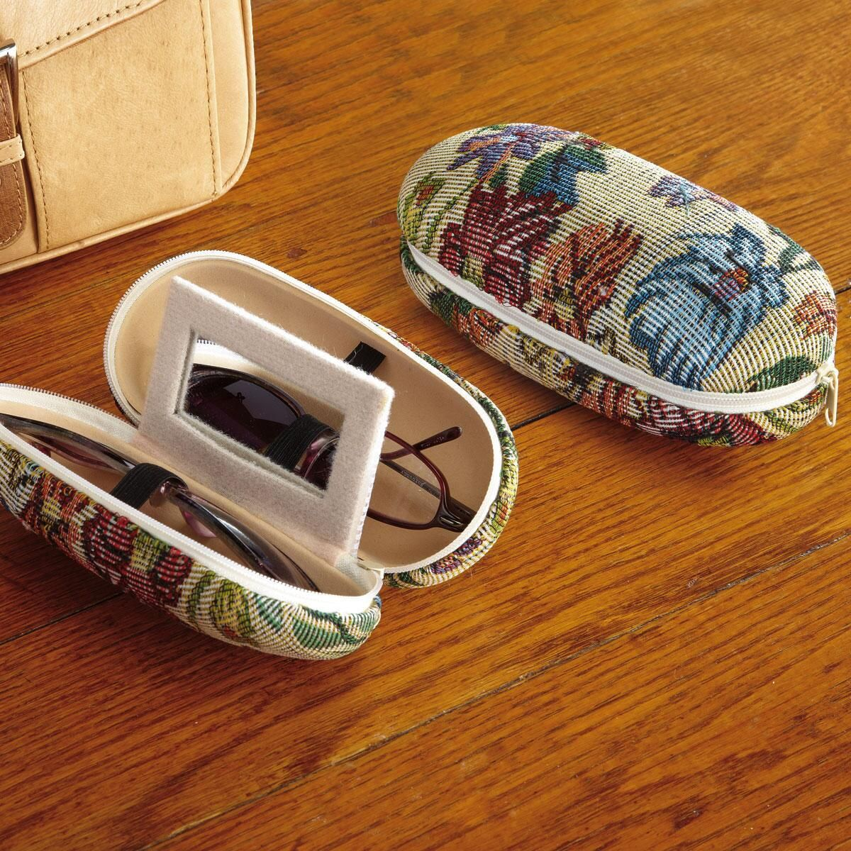 Tapestry Dual Glasses Case