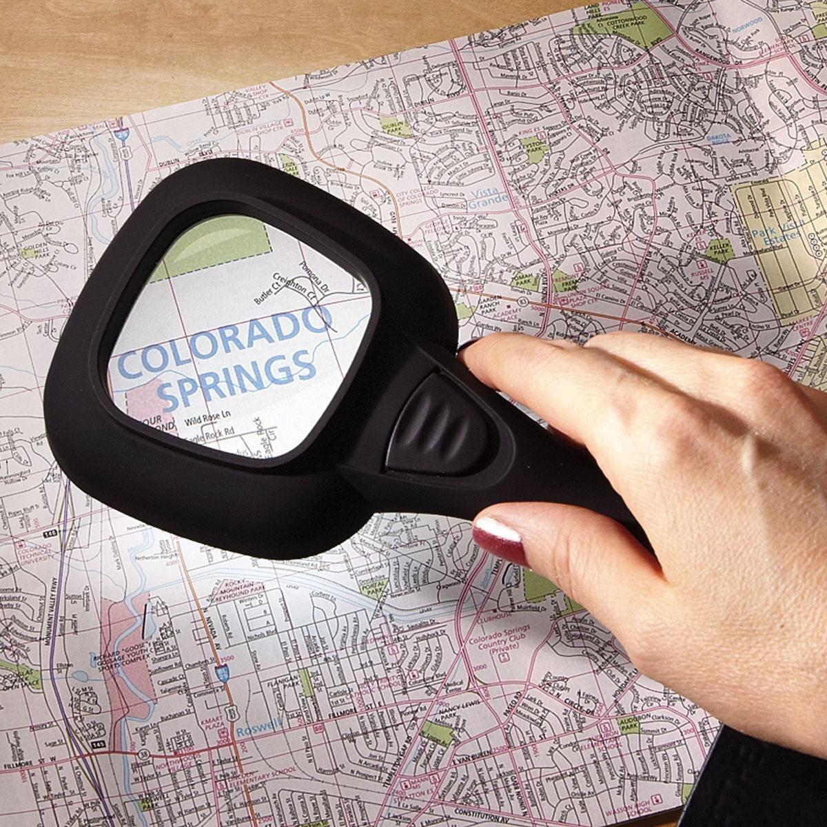 LED Handheld Magnifier