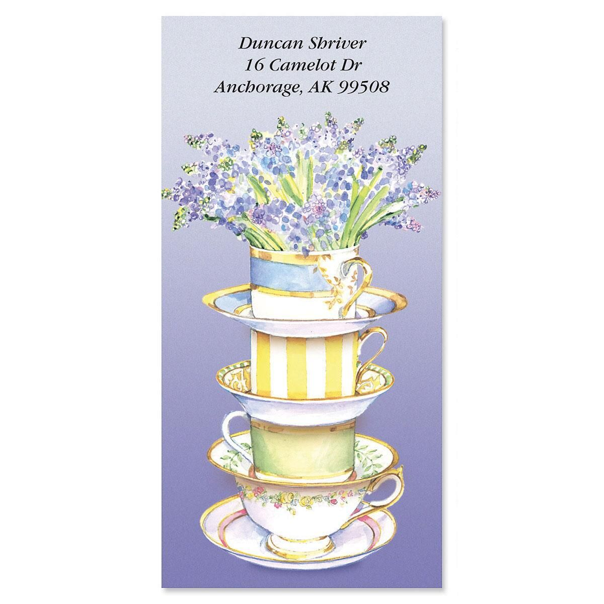 High Tea  Oversized Return Address Labels