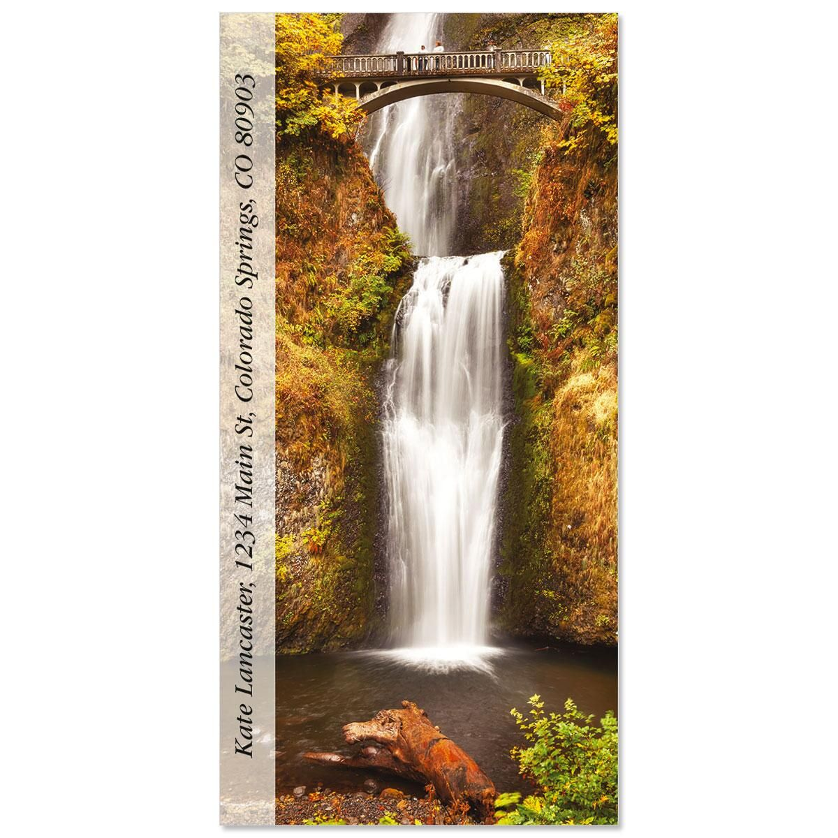 Multnomah Falls  Oversized Address Labels