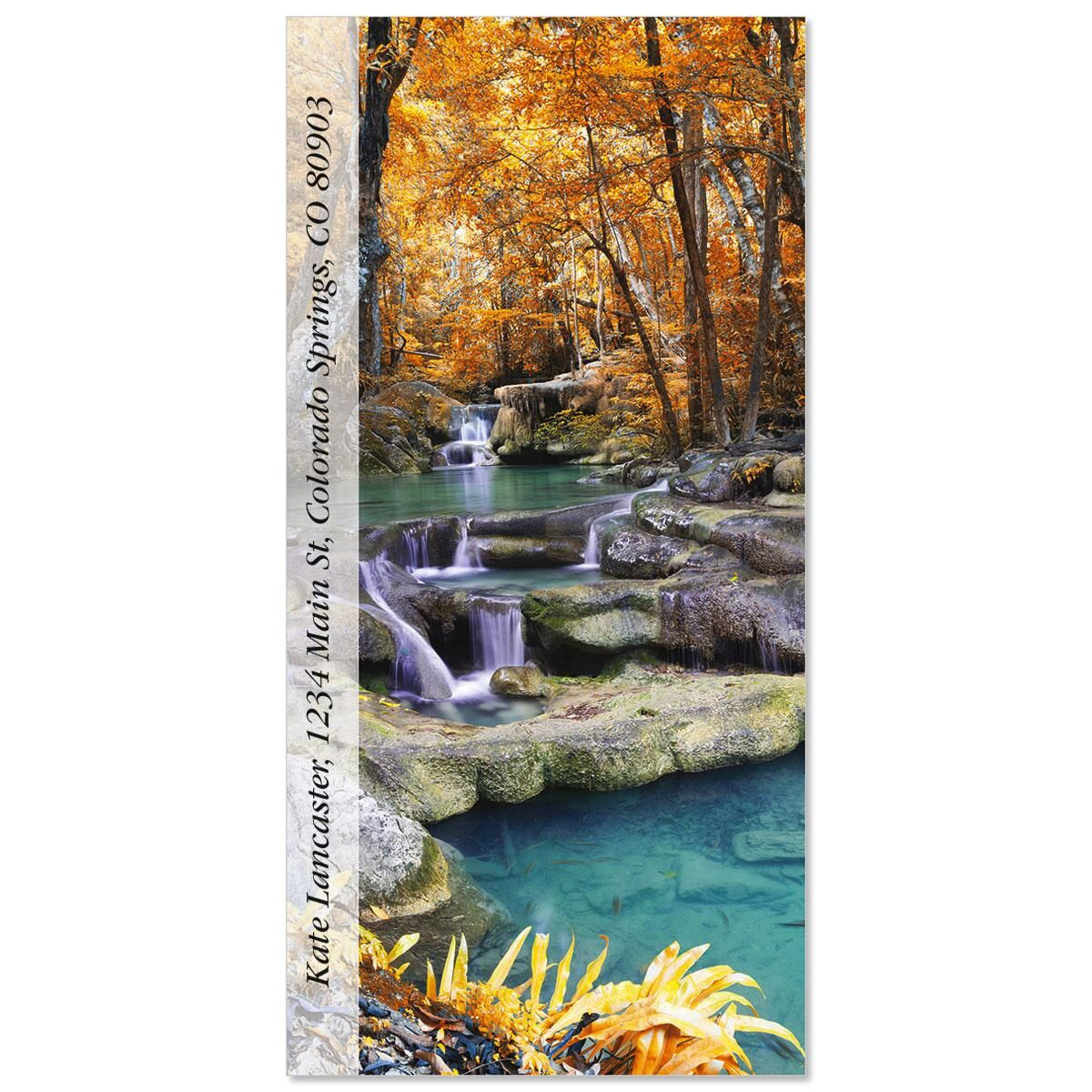 Erawan In Autumn  Oversized Address Labels