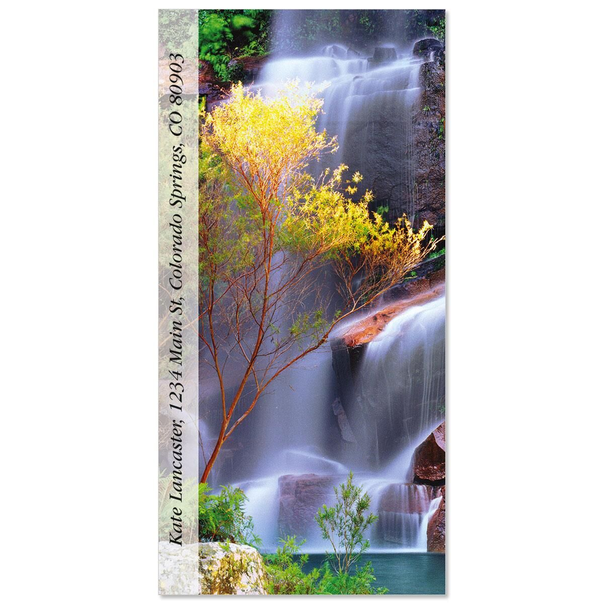 Soft Falls  Oversized Return Address Labels