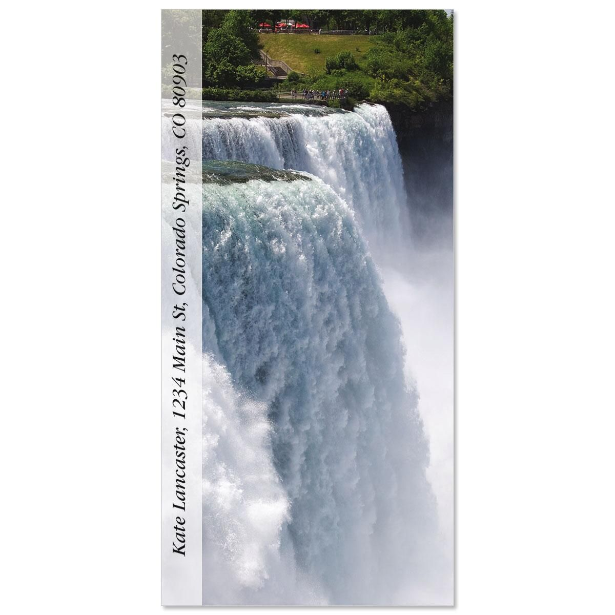 Niagara Falls  Oversized Address Labels